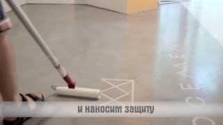Нанесение микроцемента Edfan на плитку без демонтажа (Microcement Edfan in Ukraine).(, 2013-08-14T11:06:58.000Z)