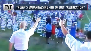 Trump's CRINGY 4th of July Party