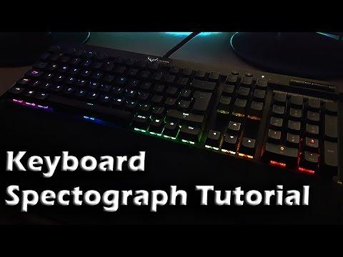 Corsair Keyboard Audio Visualiser Tutorial