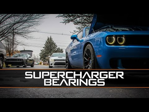 Dodge Hellcat Supercharger Bearings Bad vs Good Sound Comparison