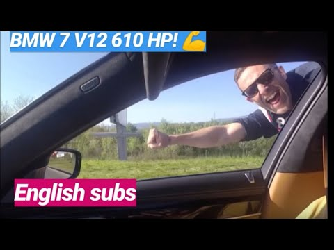 Perverzija na 4 kotača! BMW 760 V12 610 KS - testirao Juraj Šebalj
