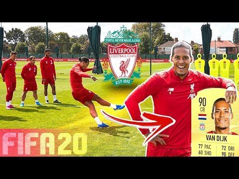 LIVERPOOL FC FREE KICK CHALLENGE!  FT. VAN DIJK, ALEXANDER-ARNOLD & FIRMINO | FIFA 20 RATINGS!