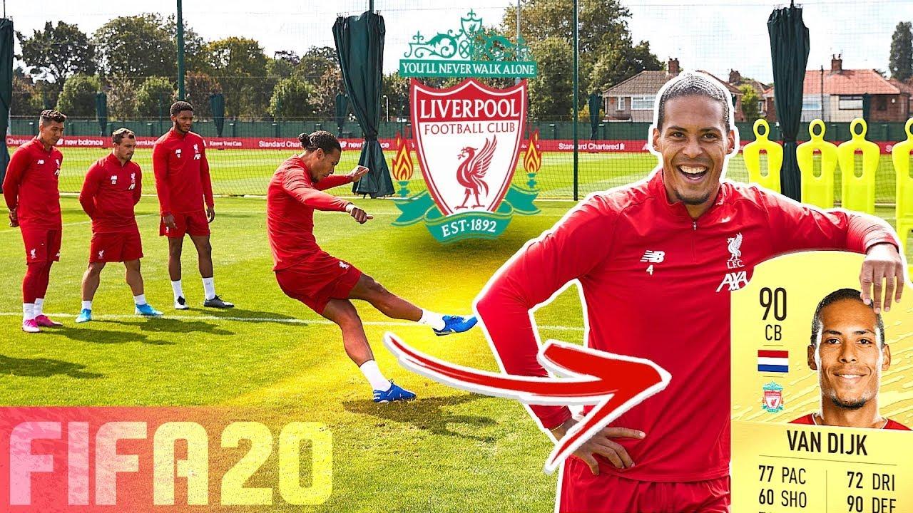 LIVERPOOL FC FREE KICK CHALLENGE! ⚽💥 FT. VAN DIJK, ALEXANDER-ARNOLD /u0026 FIRMINO | FIFA 20 RATINGS!