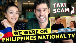 REACTING to our MANILA TAXI SCAM news report on Philippines Television