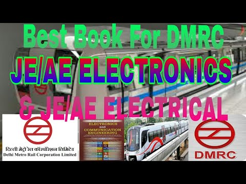 Best book for DMRC JE/AE ELECTRONICS & ELECTRICAL|| Dmrc recruitment| Dmrc carrier