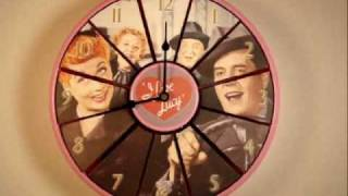 I Love Lucy Talking Wall Clock (articulated).wmv