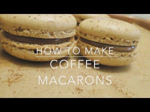 Fool Proof Coffee Macarons Recipe Youtube