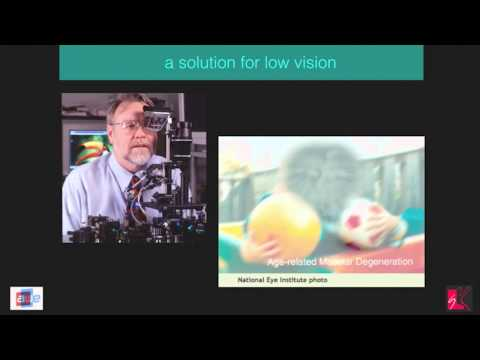 "Tom Furness (Grandfather of AR and VR) - ""Being the Future"" at AWE 2015"