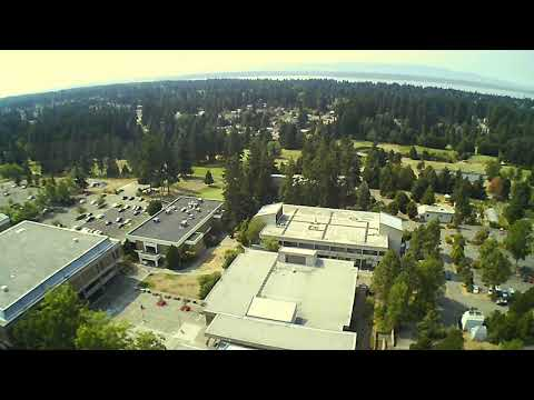 Edmonds Community College campus fly over