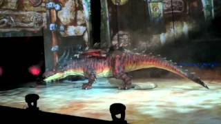 How To Train Your Dragon Live. Toothless Fights Monstrous Nightmare