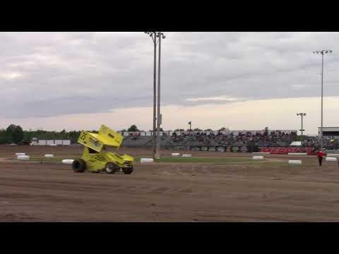 Lightning sprint heat 1 06 9 18  Merritt Speedway