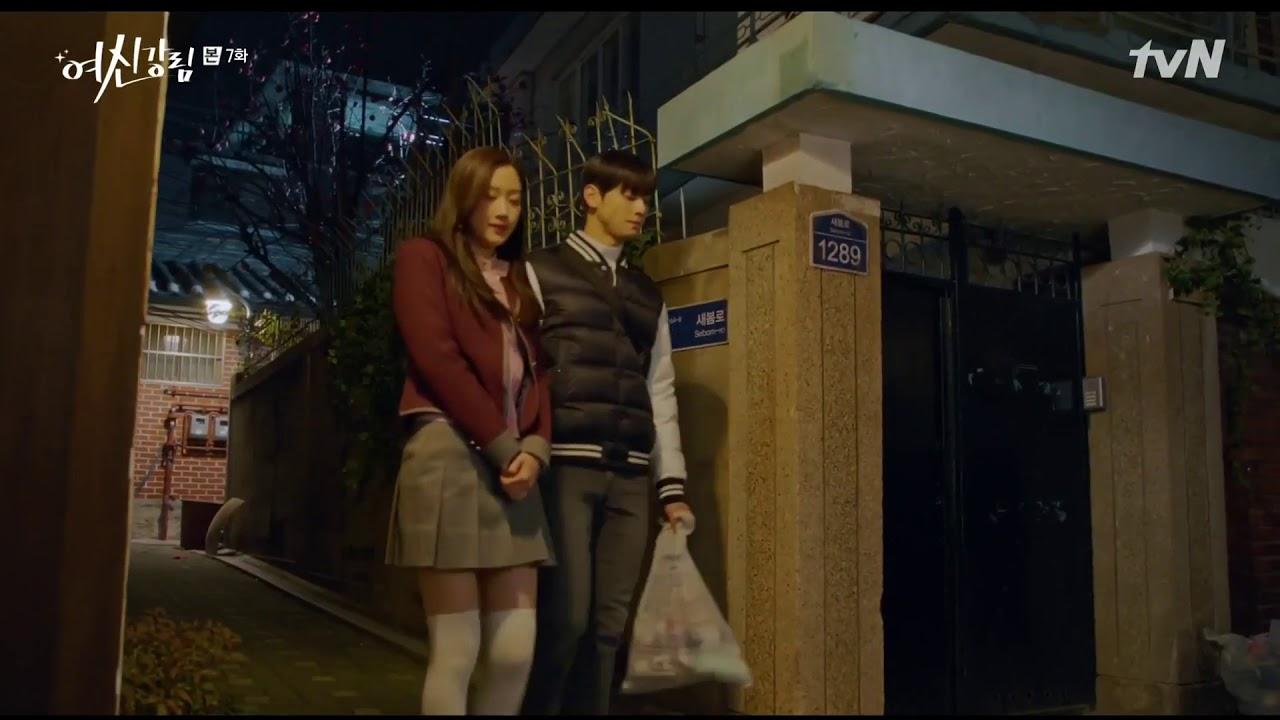 Download True Beauty Episode 7 : Ju Kyung sits on Soo Ho's shoulder, Soo Ho Gives her a gift