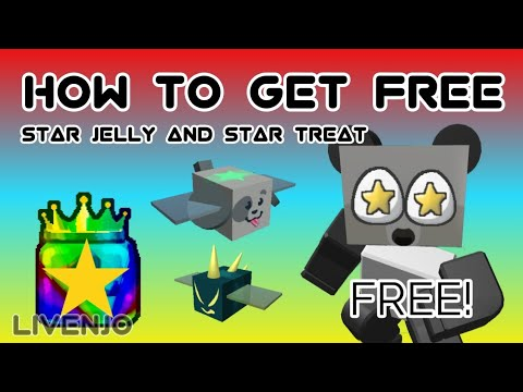 How To Get Free Star Jelly Star Treat Roblox Bee Swarm