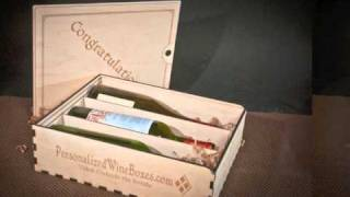 Wood Wine Gift Boxes