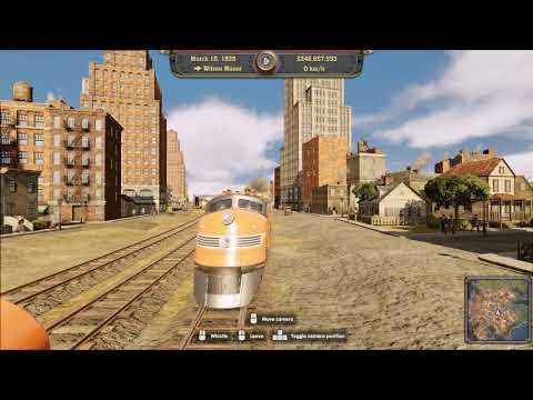 Railway Empire (normal easy track setup) |