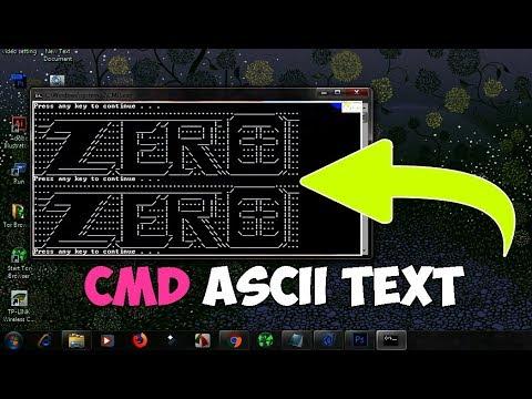Ascii bilder generator