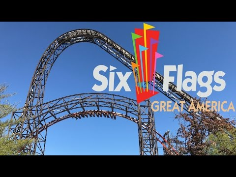 Six Flags Great America 2017 Tour & Review with The Legend
