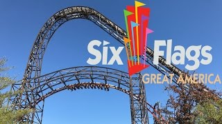 Six Flags Great America Tour & Review with The Legend