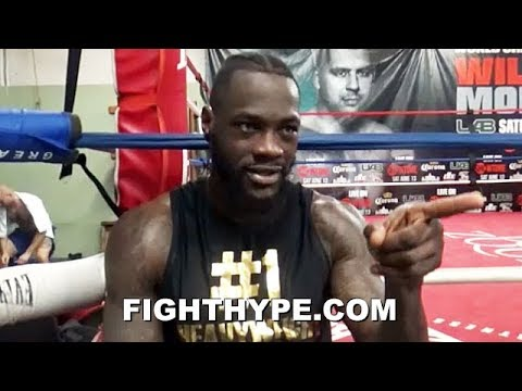 "DEONTAY WILDER REVEALS HOW TYSON FURY ""CHESS MATCH"" WILL PLAY OUT; HINTS AT ""FENCING"" STRATEGY"