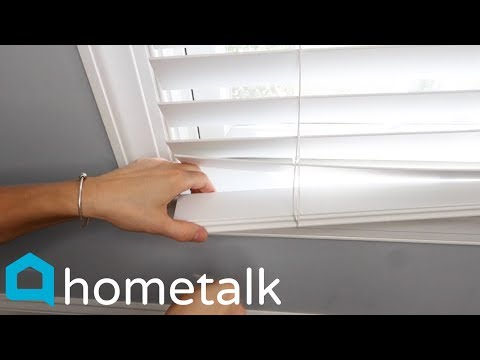 Window Blinds Upcycle - Totally transform your boring blinds for just $3! | Hometalk
