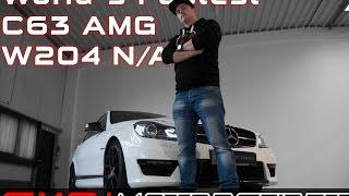 Mercedes C63 AMG W204 / The Worlds Fastest / SimonMotorSport