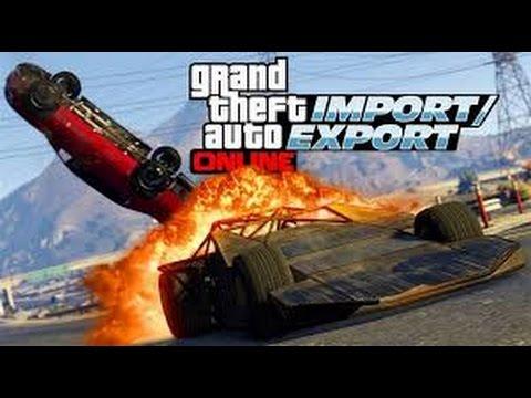 [CZ-SK] GTA V - NOVÉ DLC IMPORT/EXPORT #3 |HD|Live|PS4|