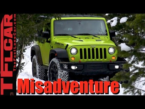 2017 Jeep Wrangler Rubicon: Icy Gold Mine Hill Misadventure Review