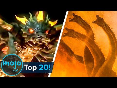Top 20 Best Godzilla Monsters