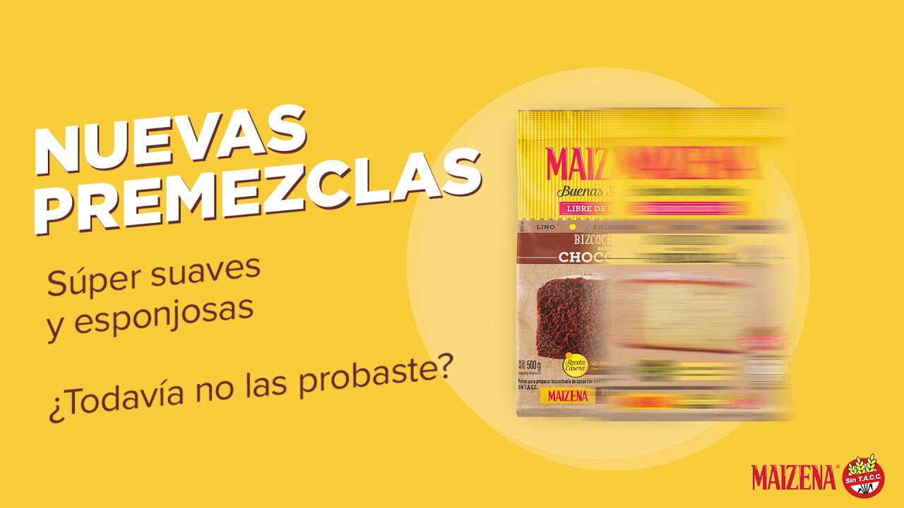 #SacaMaizenaDeTuAlacena - Premezclas