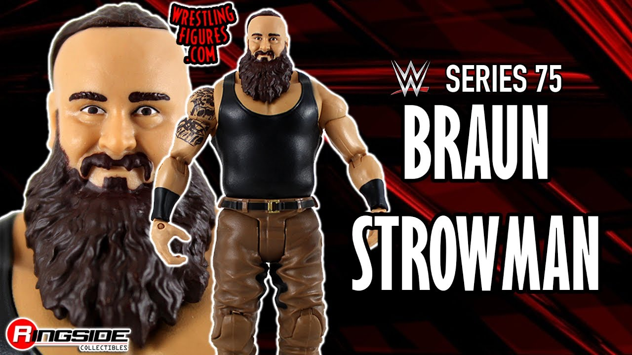 WWE FIGURE INSIDER: Braun Strowman - WWE Series 75 Toy Wrestling Action  Figure
