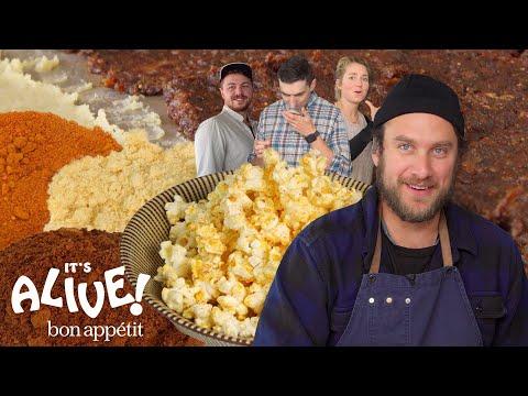 Brad Makes Fermented Popcorn Seasoning | It's Alive | Bon Appétit