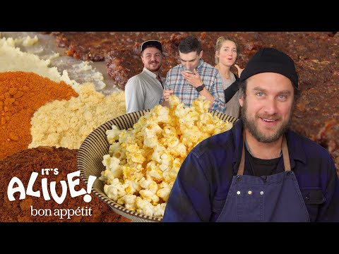 Brad Makes Fermented Popcorn Seasoning | It's Alive | Bon Apptit