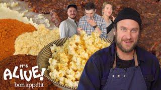 Download Brad Makes Fermented Popcorn Seasoning   It's Alive   Bon Appétit Mp3 and Videos