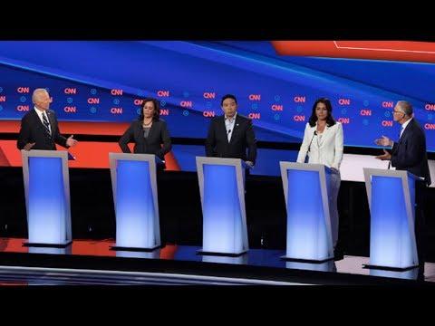 2nd Dem Debate Pt 2: Takes on Police Reform, Shows Divide on Criminal Justice (2/4)