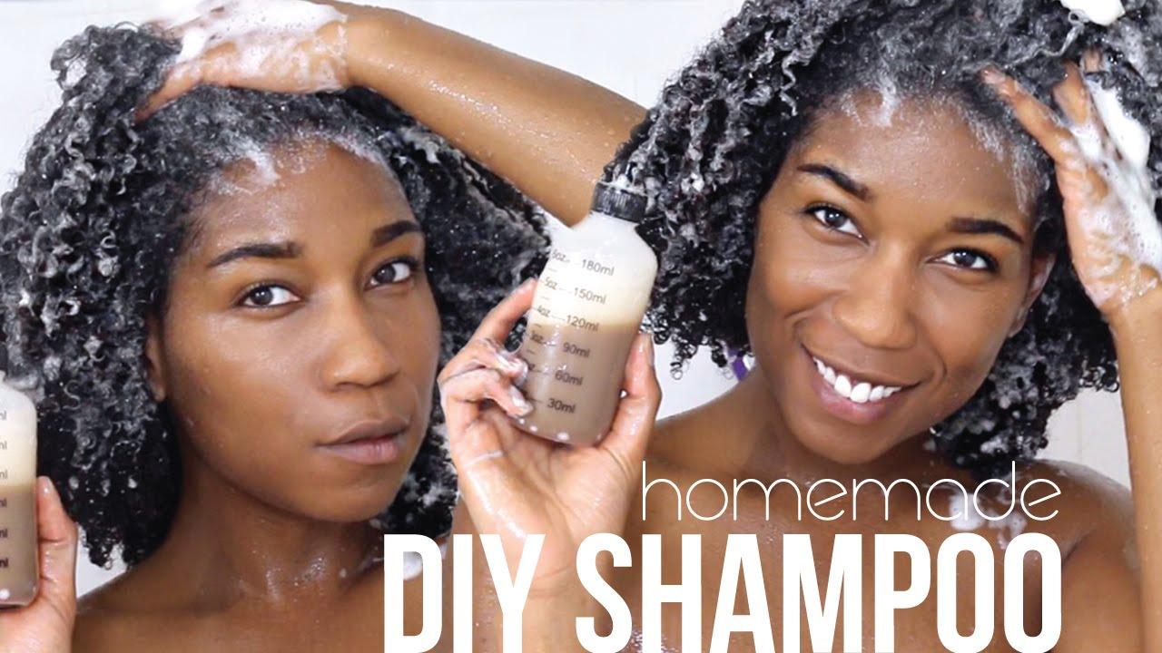 Diy Homemade Natural Shampoo With African Black Soap Healing