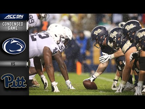 Penn State vs. Pittsburgh Condensed Game   2018 ACC Football