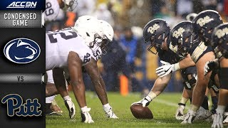 Penn State vs. Pittsburgh Condensed Game | 2018 ACC Football