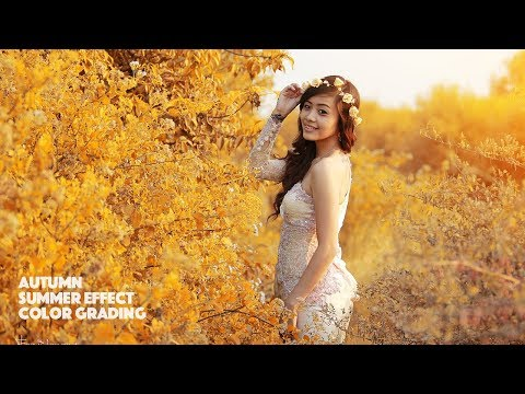 Autumn Effect Two Minutes Process Editing | Photoshop Tutorial thumbnail
