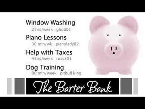 The Barter Bank