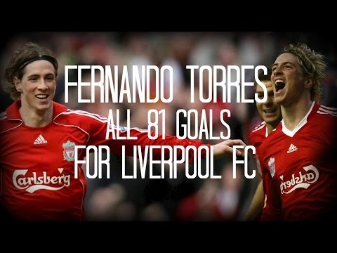 Fernando Torres - All 81 Goals for Liverpool FC - 2007/2011 - English Commentary (Just Goals)