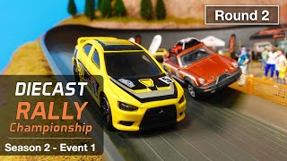 Diecast Rally Championship (Event 1 Round 2) DRC Car Racing