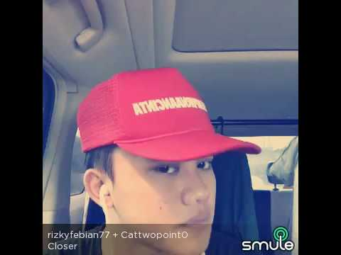 Closer - Rizky Febian ft. Cattwopoint0 (on smule)