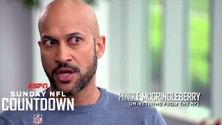 Hingle McCringleberry talks new celebration rule | NFL Countdown | ESPN