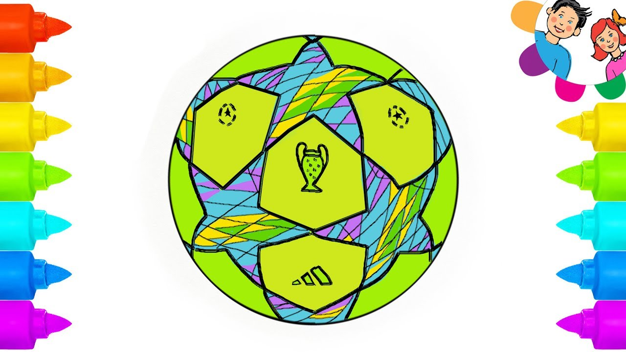 how to draw soccer ball painting coloring pages sport toys