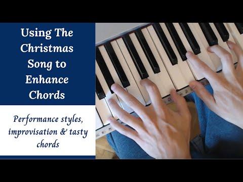 The Christmas Song - Jazz Piano Tutorial - Improvisation