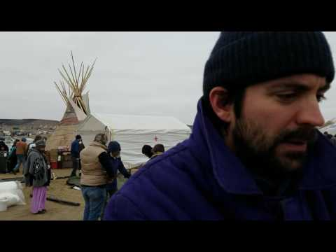 Entourage star Rhys Coiro delivers $4k to Oceti Sakowin Camp on Thanksgiving Day