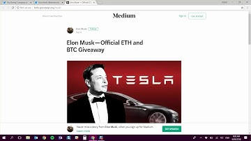 Crypto Scam Explained: Elon Musk Bitcoin/Ethereum Giveaway