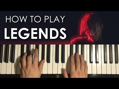 How To Play - Juice WRLD - Legends (PIANO TUTORIAL LESSON)
