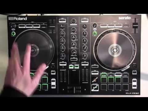 Roland DJ 202 Review & demo with Serato intro
