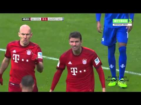 Highlight Bayern Munich 3 - 1 Darmstadt